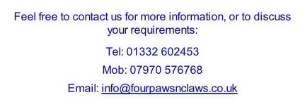 Feel free to contact us for more information, or to discuss your requirements: